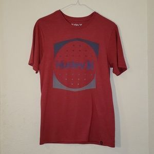 Hurley Unisex Red Tshirt